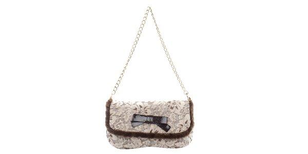 Dámska kabelka s kvetinovým vzorom Phard