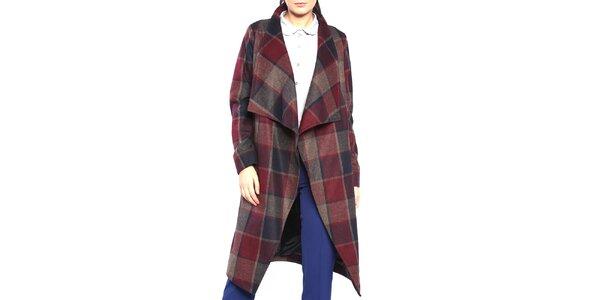 Dámsky kockovaný kabát Vera Ravenna