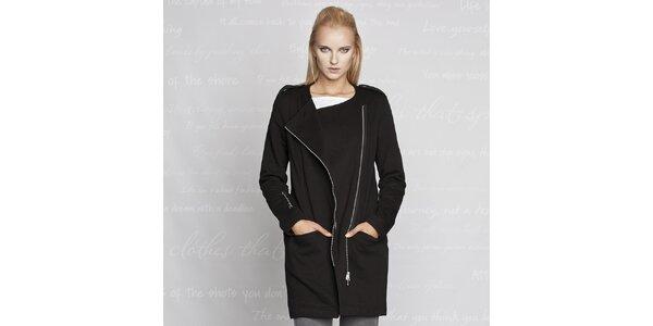 Dámsky čierny kabátik Paphia