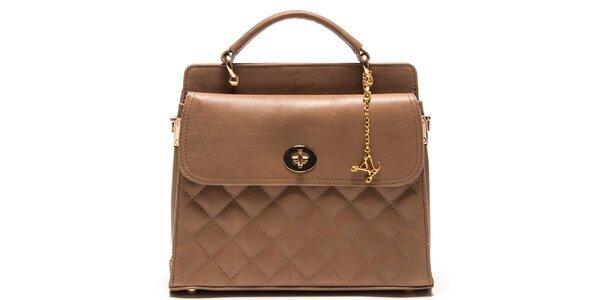 Dámska kabelka s prešívaním Luisa Vannini