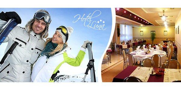Skvelý zimný relax vrátane super lyžovačky v hoteli LUNA***