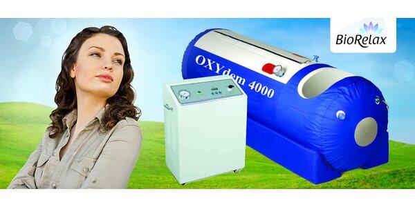 Hyperbarická komora s čistým 90% kyslíkom