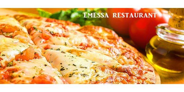 Pravá chrumkavá pizza ako od Taliana!
