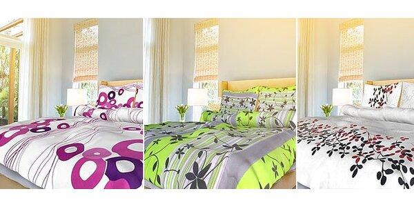 Kvalitná bavlnená posteľná bielizeň