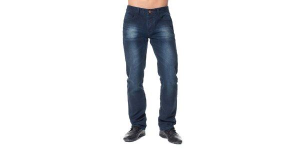 Pánske modré šisované džínsy Paul Stragas