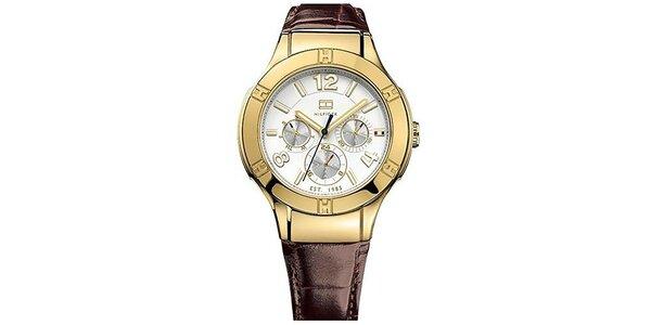 Dámske hodinky s bielym ciferníkom Tommy Hilfiger