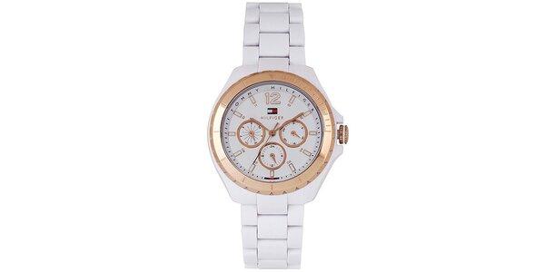 Dámske biele hodinky Tommy Hilfiger