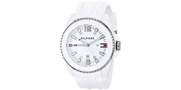 Pánske biele hodinky Tommy Hilfiger
