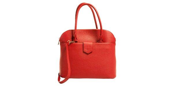 Dámska červená elegantná kabelka Joana and Paola
