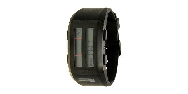 Unisexové čierne digitálne hodinky RG512