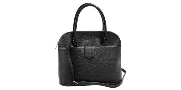Dámska čierna elegantná kabelka Joana and Paola