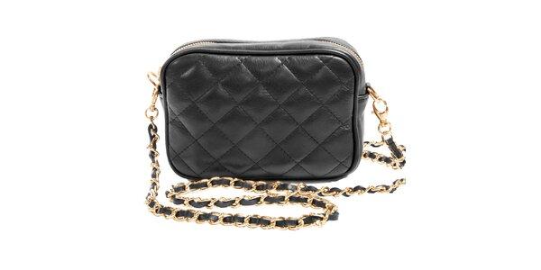 7b37154d94 Dámska čierna mini kabelka cez rameno Joana and Paola