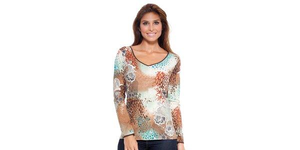 Dámske vzorované tričko Janis