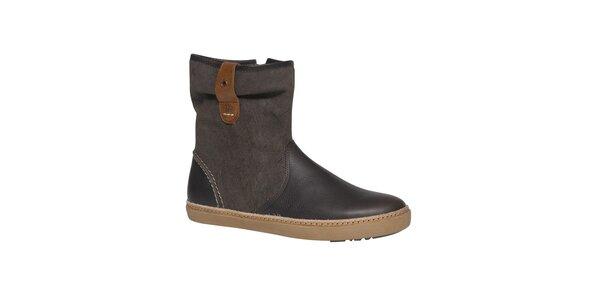 Dámske hnedé topánky TBS