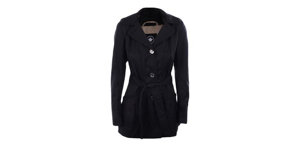Dámsky čierny jednoradový kabátik Halifax