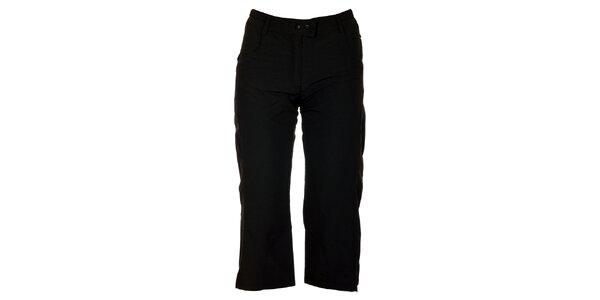 Dámske čierne 3/4 nohavice Hannah