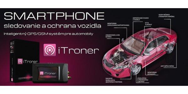 iTroner - inteligentný systém ochrany a dohľadu nad vozidlom bez mesačných…
