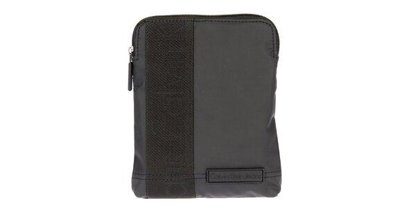 Pánska taška cez rameno v čiernej farbe Calvin Klein Jeans
