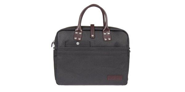Pánska čierna taška na laptop Calvin Klein