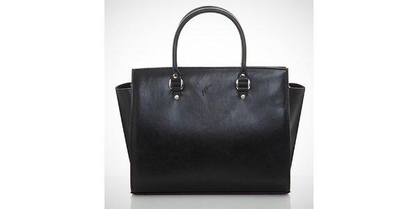 Dámska čierna business kabelka Felice
