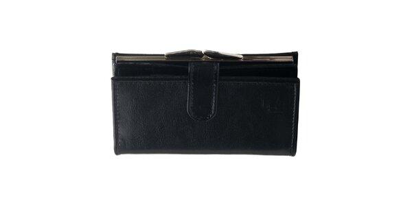 Dámska kožená peňaženka Felice - čierna