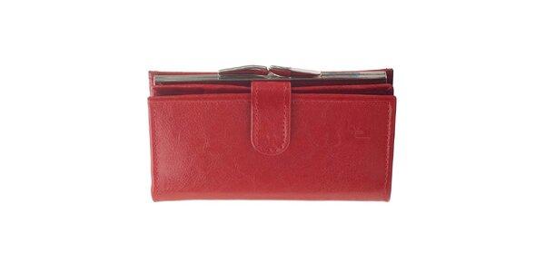 Dámska kožená peňaženka Felice - červená