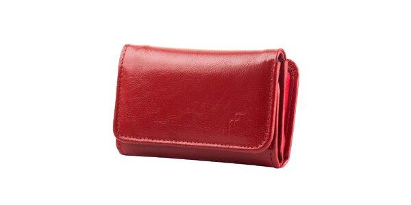 Dámska červená peňaženka Felice - kožená