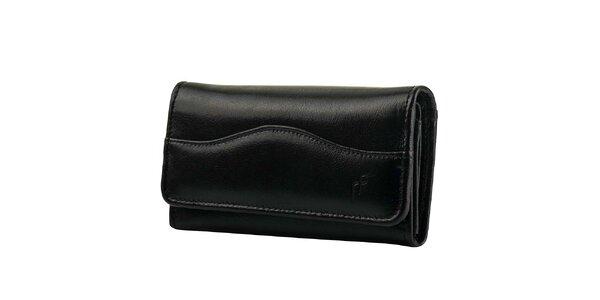 Dámska čierna obdĺžniková peňaženka Felice