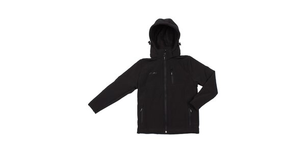 Dámska čierna softshellová bunda Utopik