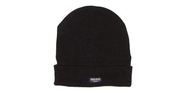 Čierna zimná čiapka Utopik