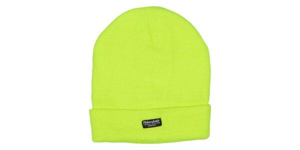 Žltá zimná čiapka Utopik