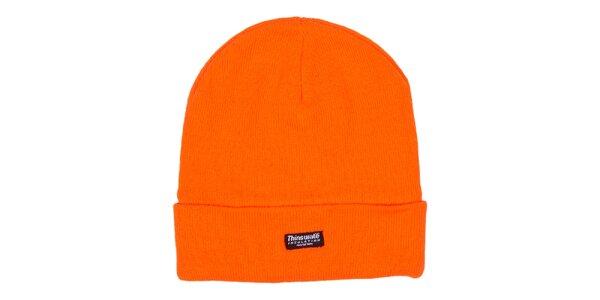 Oranžová zimná čiapka Utopik
