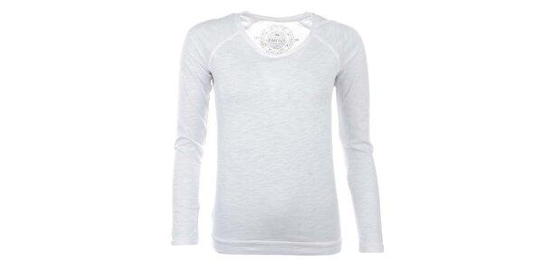 Dámske snehovo biele tričko Timeout
