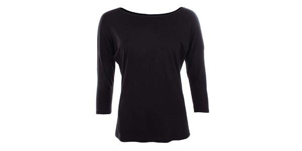 Dámske čierne tričko Timeout