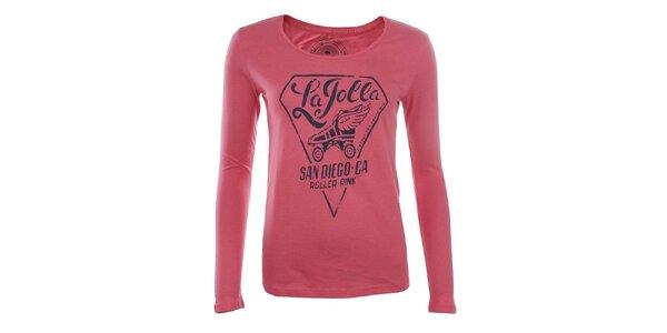 Dámske ružové tričko Timeout