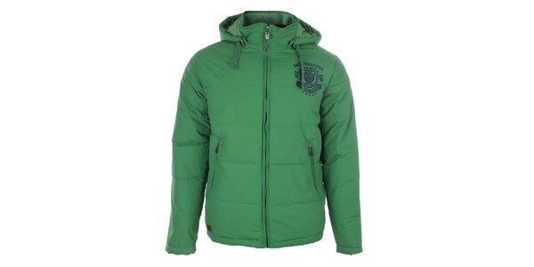 Pánska zelená zimná bunda Timeout