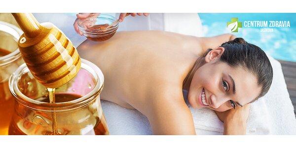 Užite si sladučkú hodinku na medovej masáži!