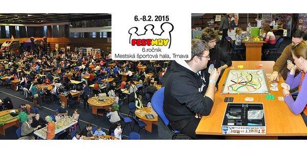 Fest hry v Trnave 6. - 8. febuára