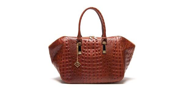 Dámska kabelka s plastickým vzorom Isabella Rhea