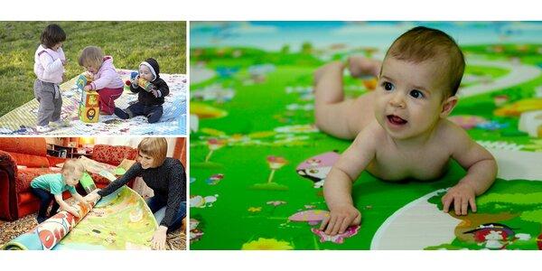 Horúca novinka na slovenskom trhu: penový vzdelávací koberec BABYPOL pre deti