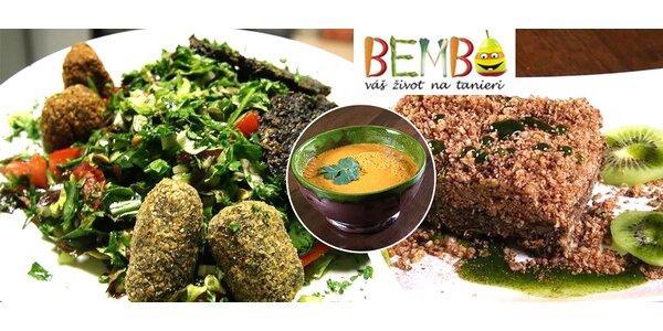Zdravé vegánske raw food menu pre 2 osoby
