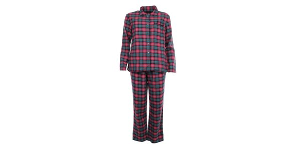 Dámske kockované pyžamo Tommy Hilfiger