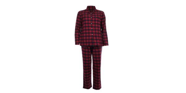 Dámske kárované pyžamo Tommy Hilfiger
