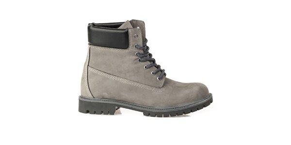 Pánske šedé farmárky Crash Shoes