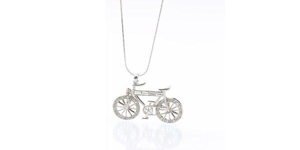 Dámsky náhrdelník s bicyklom Laura Bruni