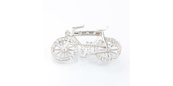 Dámska brošňa - bicykel Laura Bruni