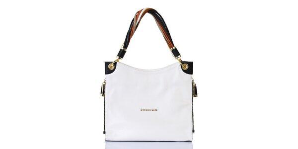Dámska biela kabelka s jedným pútkom Giorgio di Mare