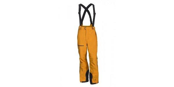 Pánske oranžové lyžiarske nohavice Envy