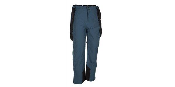 Pánske modré lyžiarske nohavice s trakmi Envy