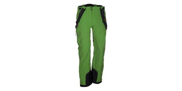 Pánske zelené lyžiarske nohavice Envy